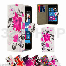 Leather Pictorial Mobile Phone Cases, Covers & Skins for Nokia with Card Pocket