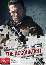 The Accountant (Dvd) Action, Crime, Drama, Thriller Ben Affleck, Anna Kendrick
