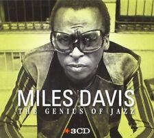 MILES DAVIS - GENIUS OF JAZZ 3 CD NEW+