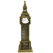 Vintage Model Statue of London Big Ben with 1 Working Clocks Souvenir 24CM