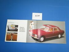 N°11377 / PEUGEOT 504 berline grand catalogue septembre 1968