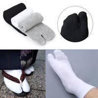 Unisex Men Women Japanese Kimono Flip Flop Split Toe Tabi Ninja Ankle Socks