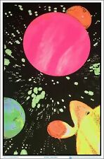 Hyperspace Blacklight Poster 23 x 35