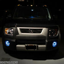 White Angel Eye Bumper Fog Lamps Driving Lights Kit for Honda Element