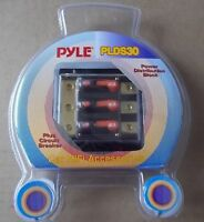 NEW Sealed Pyle PLDS30 Triple 40 Amp Power Distribution Block w/Circuit Breaker