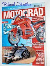 MOTORRAD 17-96+BMW K 1200 RS+DUCATI 916+HONDA CBR+HYPER 1+APRILIA RS+KAWASAKI ZX
