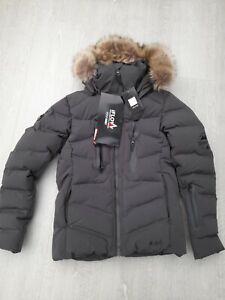 IFlow Down Ski Jacket Ladies Irongrey Size S (36) BNWT RRP £319.99