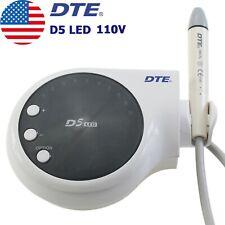 Usa Original Woodpecker Dental Ultrasonic Scaler Piezo Scaling Dte D5 Led 110v