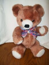 "Vintage DAKIN Jointed Teddy Bear Plush 1968 Stuffed 12"""
