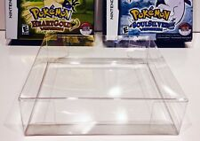 1 Box Protector for Pokemon Heartgold / Soulsilver case  Nintendo DS  NTSC ONLY!