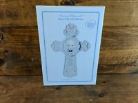 Precious Moments 'Communion Cross' Boy #153403 Ready To Hang or Stand New In Box