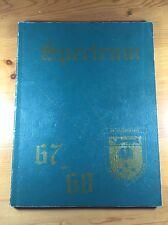 Spectrum 67-68 Campbell Collegiate Yearbook Regina Saskatchewan High School