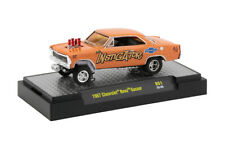 1/64 M2 1957 Chevrolet Bel Air DIECAST With Pink Flames