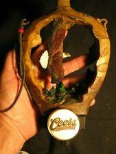 beer tap handle golden eagle coors original