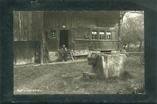 Alt - Lustenau - Vorarlberg - Altes Bauernhaus mit Brunnen - Karte ca 1920 -1930