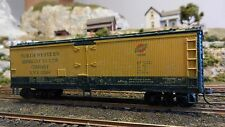 Athearn Ho Bb 40' Billboard Reefer, Chicago North Western, Upgraded, Ex