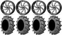 "MSA Mach Switch 22"" Wheels 37x8.3 BKT 171 Tires Can-Am Maverick X3"
