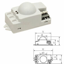 Infrared Microwave Sensor PIR Motion Movement Detector 360 Degree 240V Security