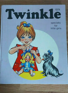 TWINKLE SPECIALLY FOR LITTLE GIRLS 1974 ANNUAL UNCLIPPED CLEAN