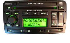 Original Autoradio Ford 6006E 6 CD E-O-N RDS Spring MNT Europe mit Code Karte