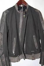 DIESEL 'Lijagard' Leather trim Jacket Size L