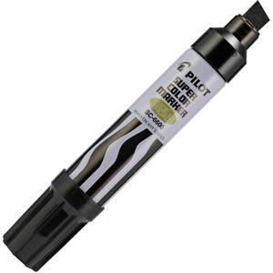 43100 Pilot Super Color Permanent Marker, Jumbo Chisel, Black Ink, Pack of 1