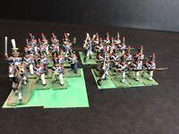 31 - 25mm Napoleonic War Games metal Hand painted Figurines.