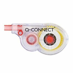 Q-Connect Correction Roller White Tape -  KF01593Q (Pack Of 3)