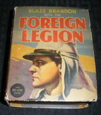 1938 FOREIGN LEGION Blaze Brandon VG+ 4.5 Whitman Big Little Book #1447