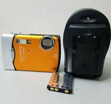 Olympus Stylus 850 SW 8.0MP Waterproof Digital Camera - Orange *GOOD/TESTED*