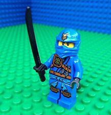 Lego BLUE NINJA minifig Ninjago Sword Katana minifigure