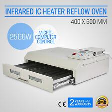 Infrarosso T962C Forno Rifusione SMD BGA Automatica Preriscaldamento Reflow Oven