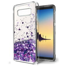 For Samsung Galaxy S8 S7 J7 J5 C7 Case Glitter Liquid Quicksand Clear Soft Cover