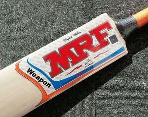 MRF Weapon English Willow Cricket Bat +AU Stock + Free knocking & ETC worth $100