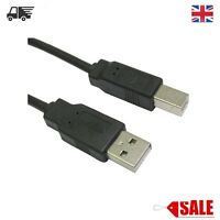 3m New USB 2.0 High Speed Cable Long Printer Lead A to B Black Shielded