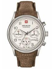 Swiss Military Hanowa Mens  Quartz Watch with Leather Strap 06-4278.04.001.05