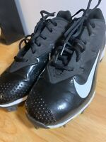 Nike Vapor Ultrafly Keystone Kids Baseball Cleats Sz 6Y Black White 881972-010