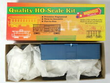 Roundhouse Undecorated wood Reefer Kit - HO Scale