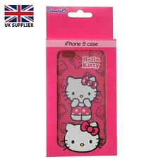 Apple Phone iPhone 5 Case Cover HELLO KITTY Cartoon Character New Pink £9.99