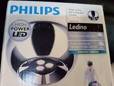 Philips Ledino chrome high power LED ceiling light Deckenleuchte warm 316101116