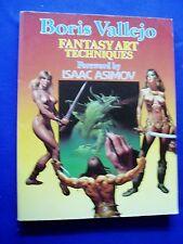 Boris Vallejo : Fantasy Art Techniques. Paper Tiger paperback. 1st.