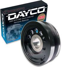 Dayco Harmonic Balancer for 2006-2010 GMC Sierra 2500 HD 6.6L V8 - Engine ga