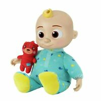 CoComelon Musical Bedtime Baby JJ Plush Singing Lullaby Doll Toy Cuddle - New