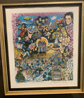 Charles Fazzino Original 3D Pop Art - Rock n Roll - Limited Edition - 61 of 475