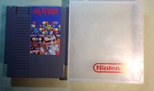 Dr. Mario Nintendo Entertainment System Nes Game Cartridge W Case Cleaned Tested
