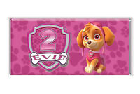 Skye Paw Patrol Personalised Chocolate Wrapper Gloss 4x6 suit Aldi 40g Bars