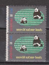 NVPH Nederland 1314 pair MNH kinderzegels 1984 Netherlands Wereldnatuurfonds WNF