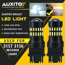 2X AUXITO 3157 3156 3057 3155 White Backup Reverse LED Light Bulb 2400LM EOA