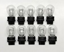 10 Pack 3157 Clear White Tail Signal Brake Light Bulb Lamp Fast Usa Shipping
