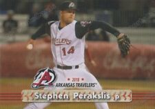 2018 Arkansas Travelers Stephen Perakslis RC Rookie Seattle Mariners Minor